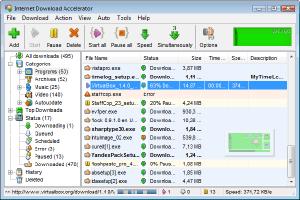 Internet Download Accelerator (IDA) Aplikasi Altenatif Pengganti Internet Download Manager