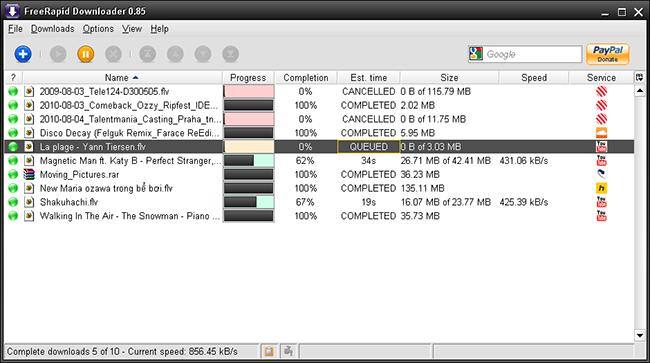 FreeRapid, Aplikasi Alternatif Pengganti Internet Download Manager
