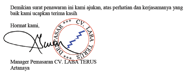 Hasil akhir menambahkan gambar pada dokumen PDF