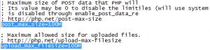 Mengatasi masalah POST Content-Length of 357966052 bytes exceeds the limit of