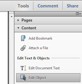 Menyisipkan gambar ke dokumen PDF