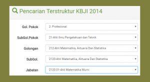 Klasifikasi Baku Jabatan Usaha Indonesia 2014 (KBJI 2014)