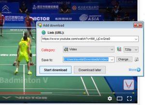 Start download dengan Internet Download Accelerator