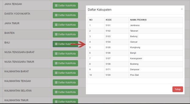 Menampilkan Data Dinamis dengan Modal Bootstrap