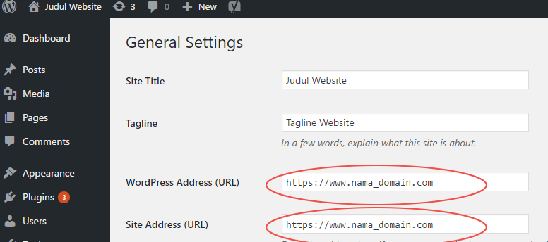 Memindahkan Website Wordpress dari HTTP ke HTTPS