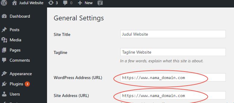 Memindahkan Website WordPress dari HTTP ke HTTPS