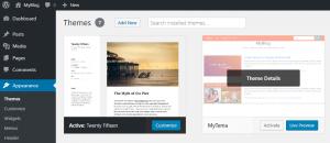 Preview Membuat Tema WordPress Responsive dengan Bootstrap 4