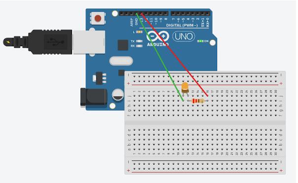 Lampu berkedip dengan Arduino